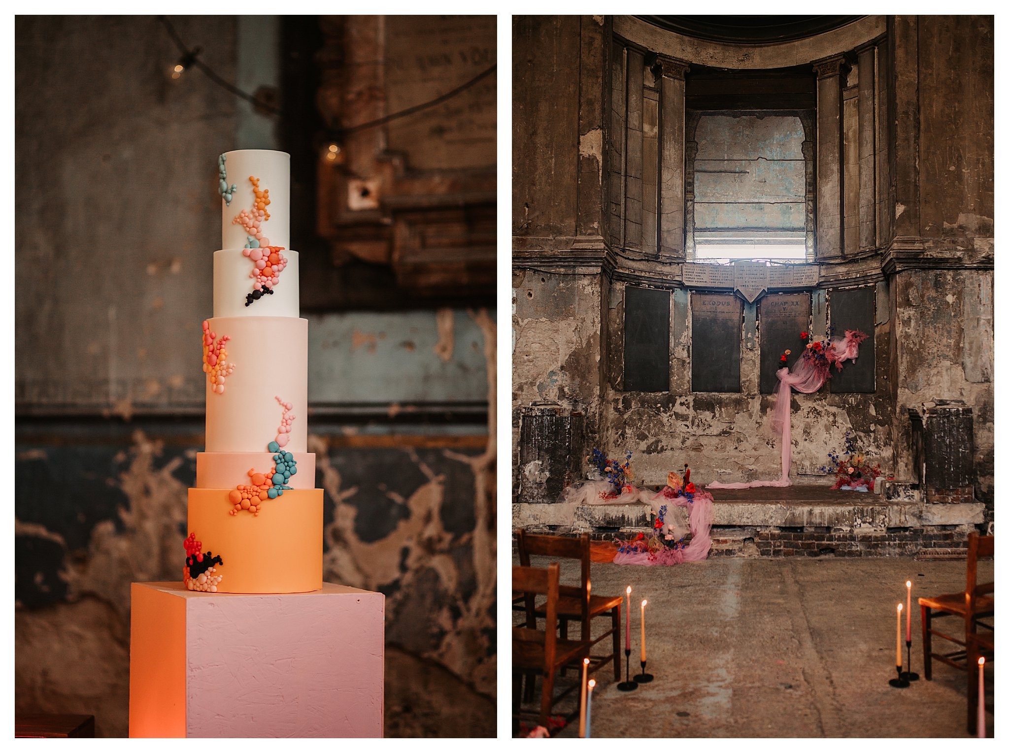 Wild Asylum Chapel London Wedding Photography