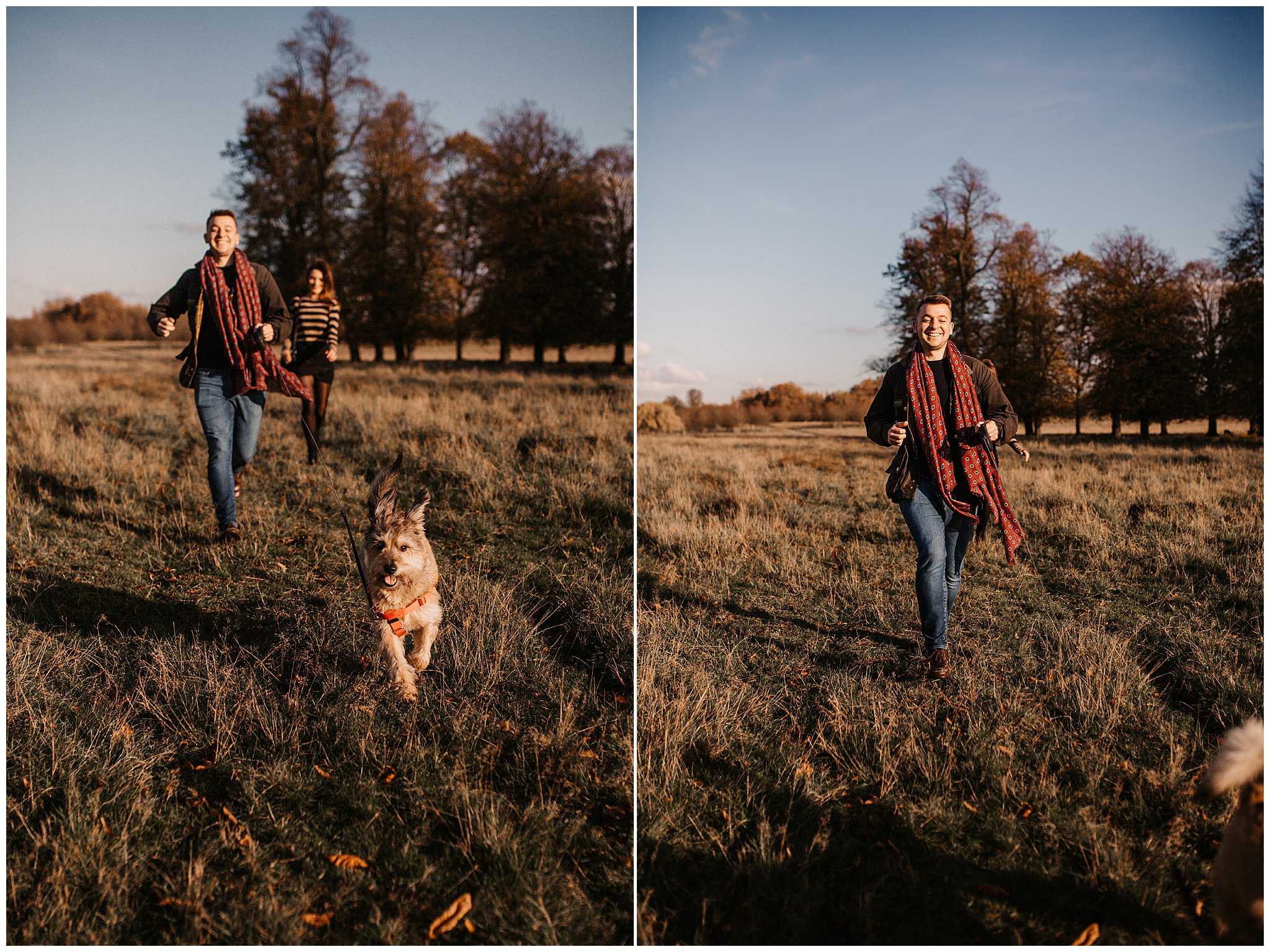 Charlie & Laurence Autumn Bushy Park Couple Shoot-113.jpg