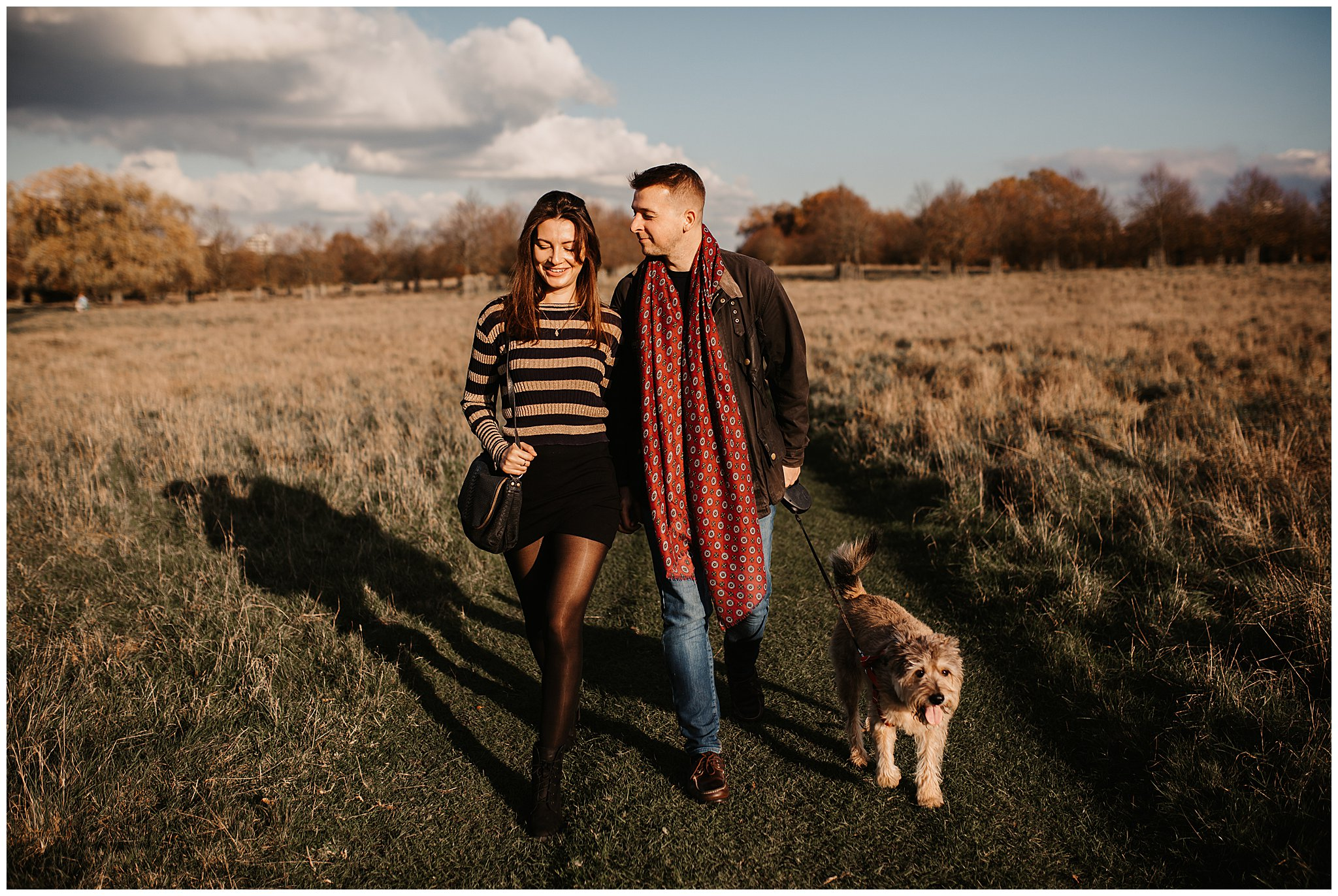 Charlie & Laurence Autumn Bushy Park Couple Shoot-12.jpg