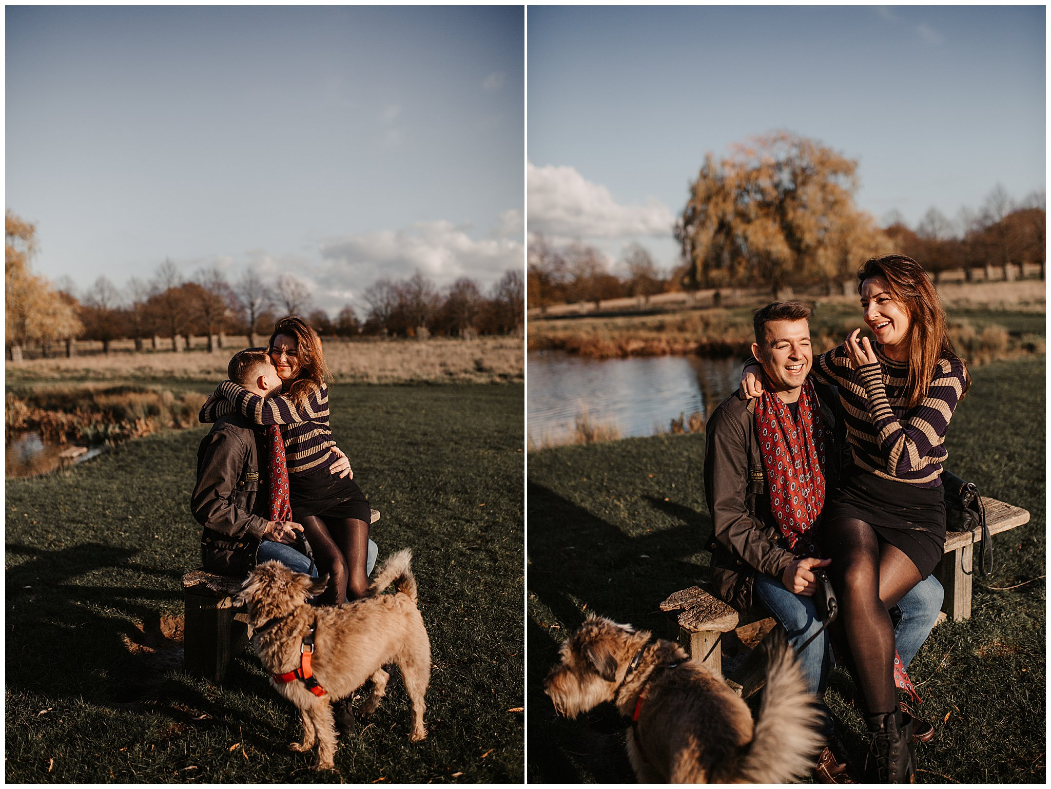 Charlie & Laurence Autumn Bushy Park Couple Shoot-131.jpg