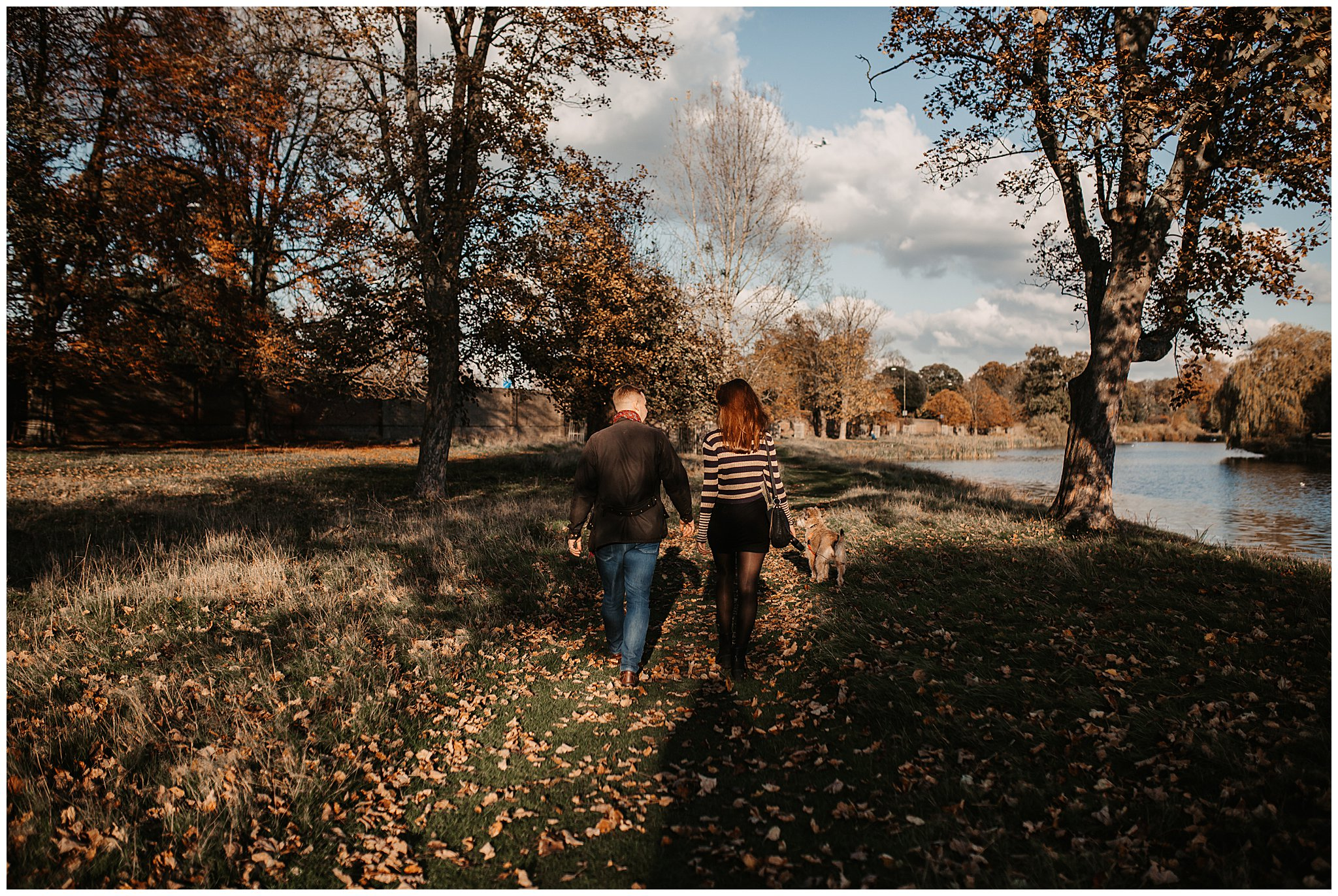 Charlie & Laurence Autumn Bushy Park Couple Shoot-146.jpg