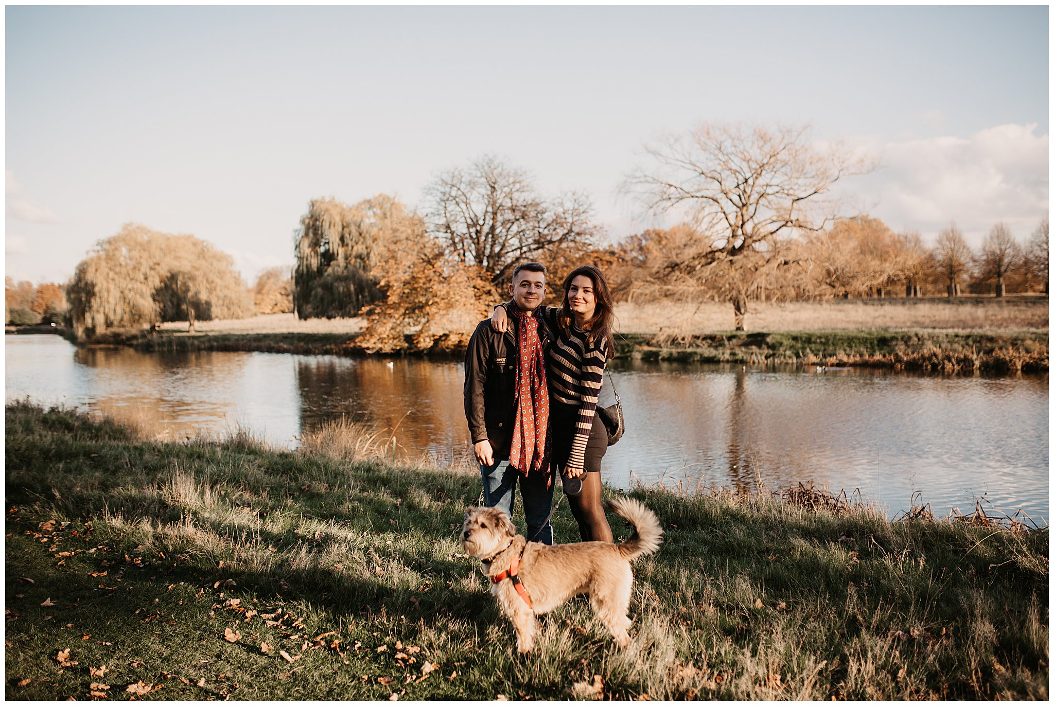 Charlie & Laurence Autumn Bushy Park Couple Shoot-165.jpg