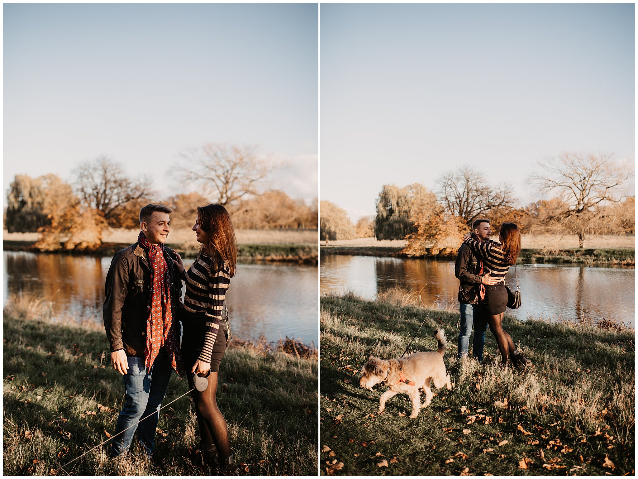 Charlie & Laurence Autumn Bushy Park Couple Shoot-174.jpg