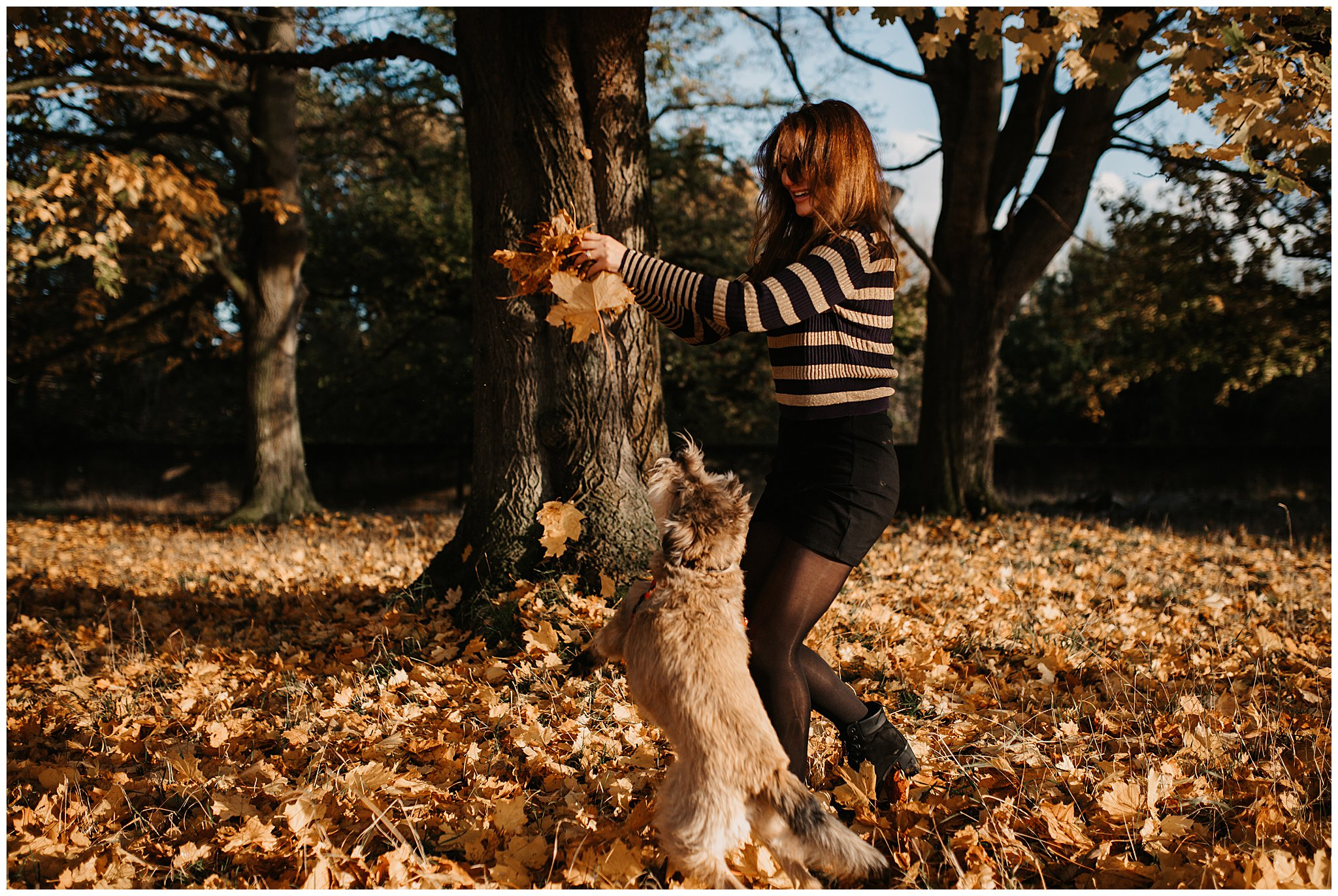Charlie & Laurence Autumn Bushy Park Couple Shoot-202.jpg