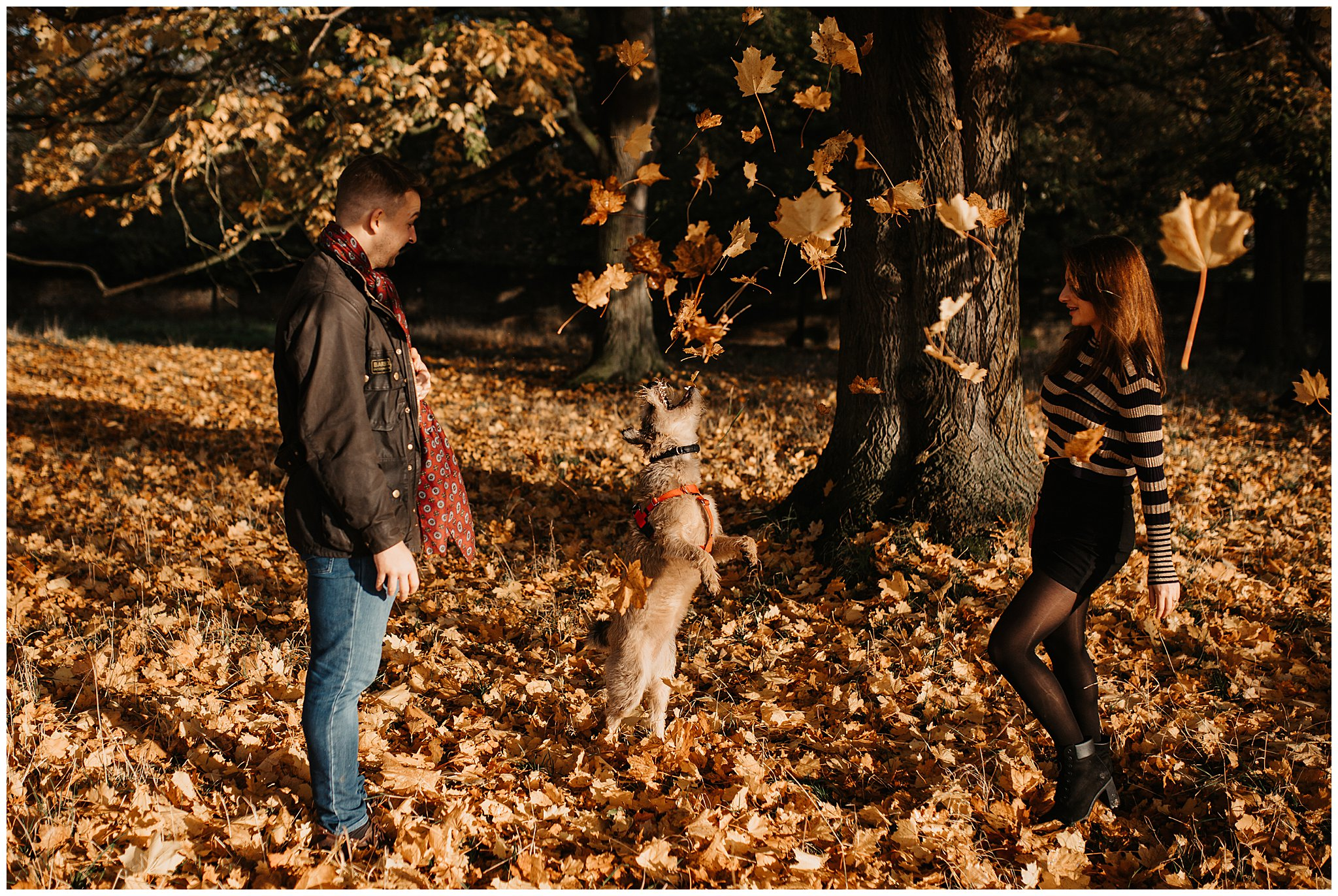 Charlie & Laurence Autumn Bushy Park Couple Shoot-207.jpg