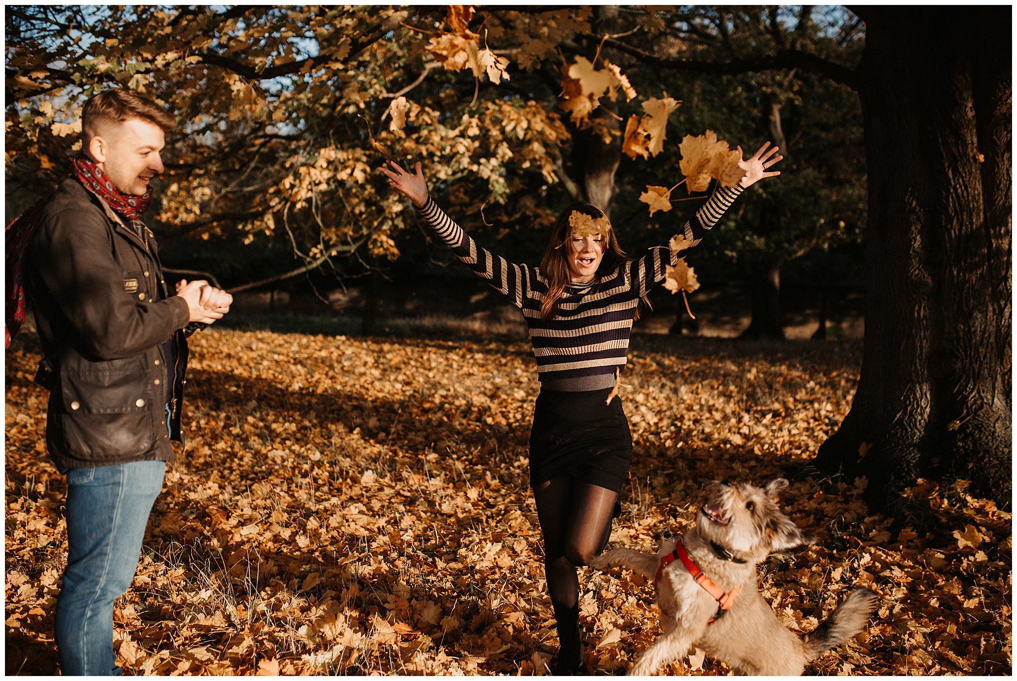 Charlie & Laurence Autumn Bushy Park Couple Shoot-219.jpg