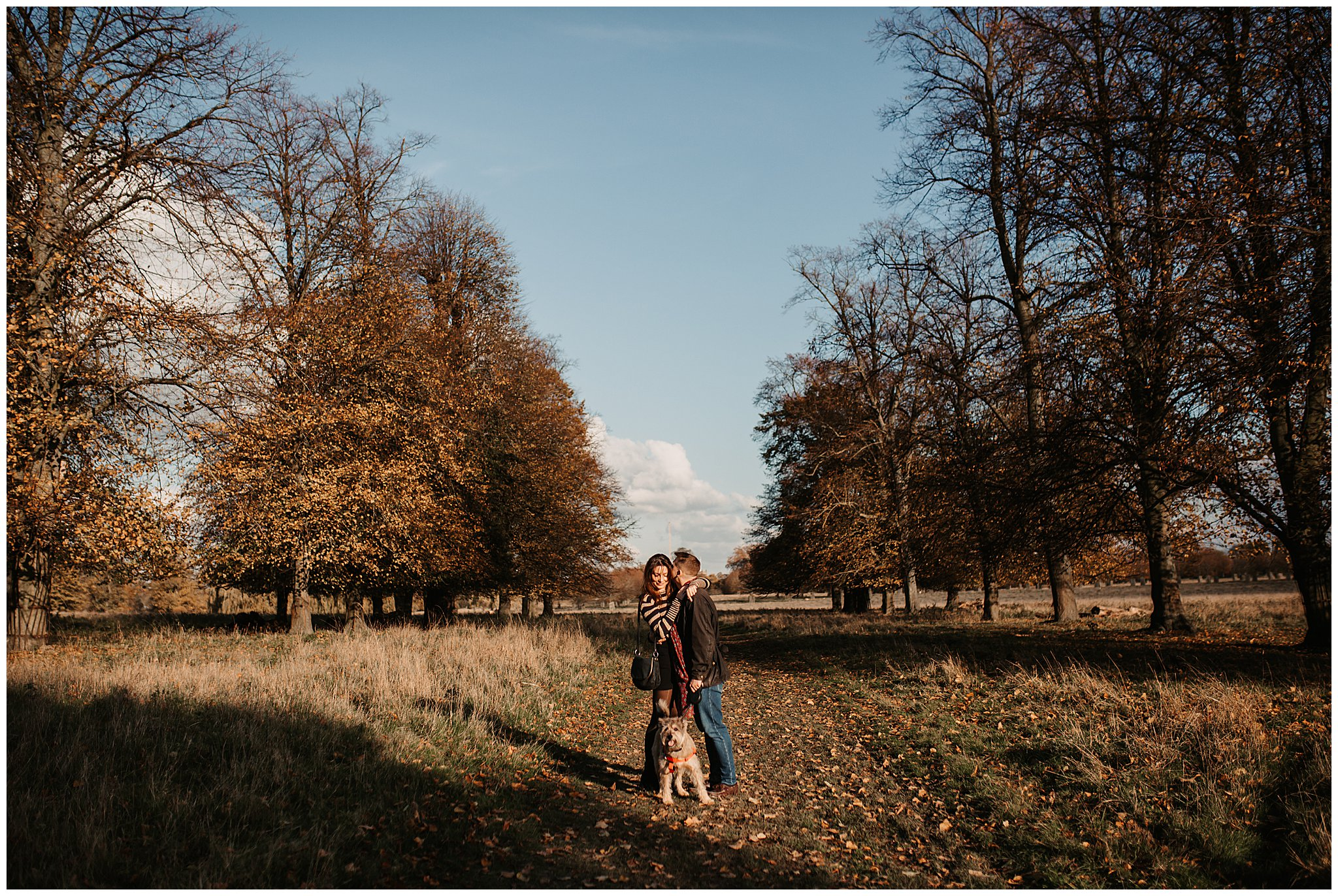 Charlie & Laurence Autumn Bushy Park Couple Shoot-29.jpg