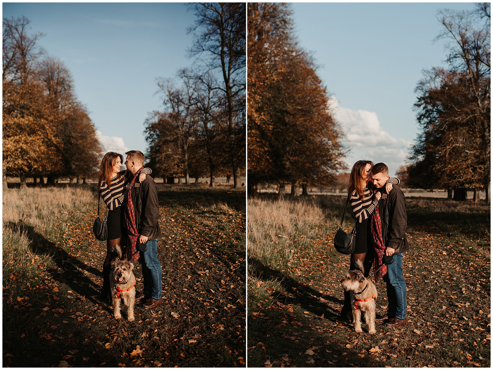Charlie & Laurence Autumn Bushy Park Couple Shoot-34.jpg