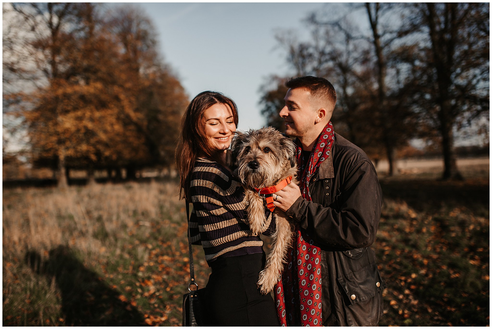 Charlie & Laurence Autumn Bushy Park Couple Shoot-43.jpg