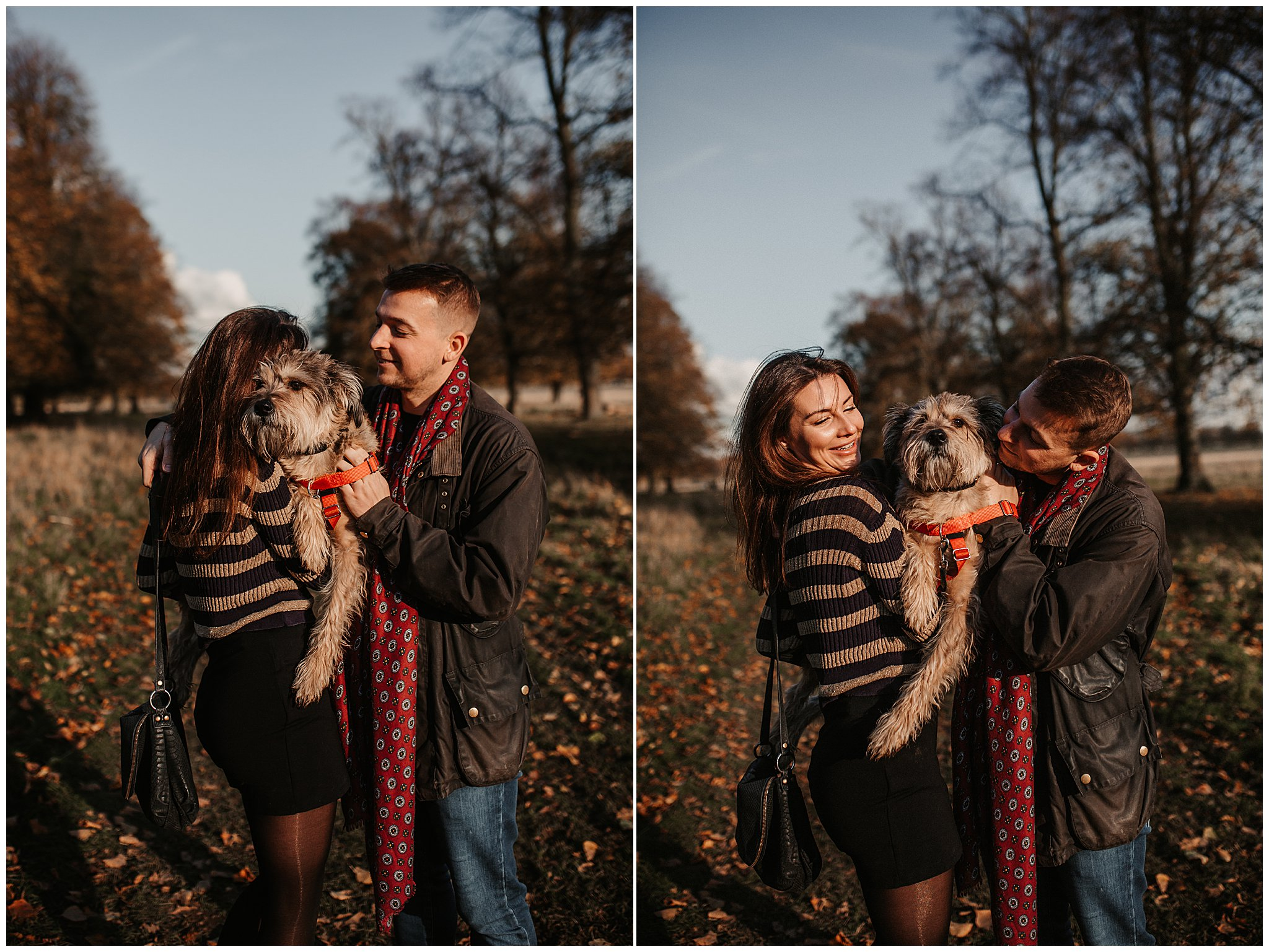 Charlie & Laurence Autumn Bushy Park Couple Shoot-46.jpg