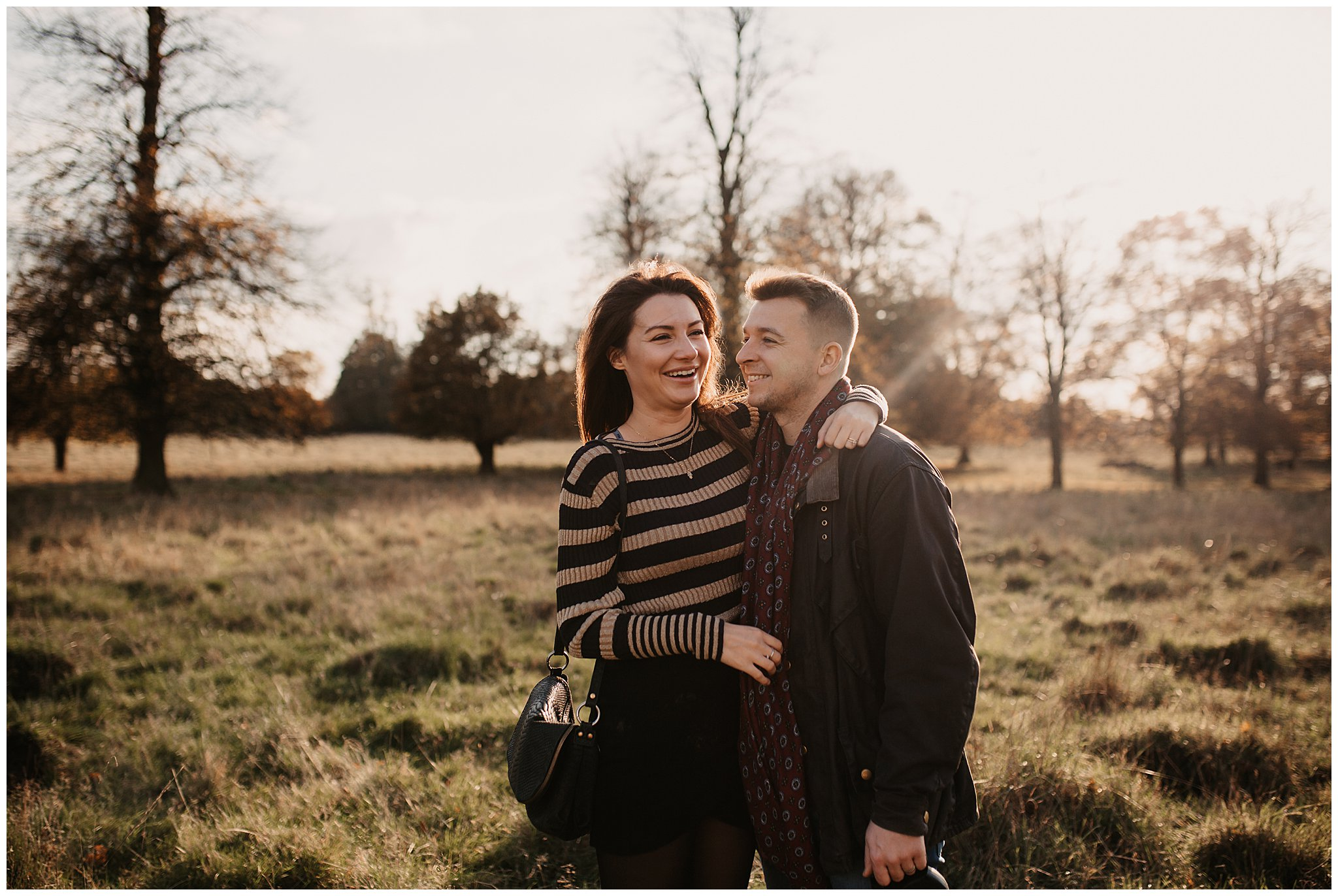 Charlie & Laurence Autumn Bushy Park Couple Shoot-76.jpg