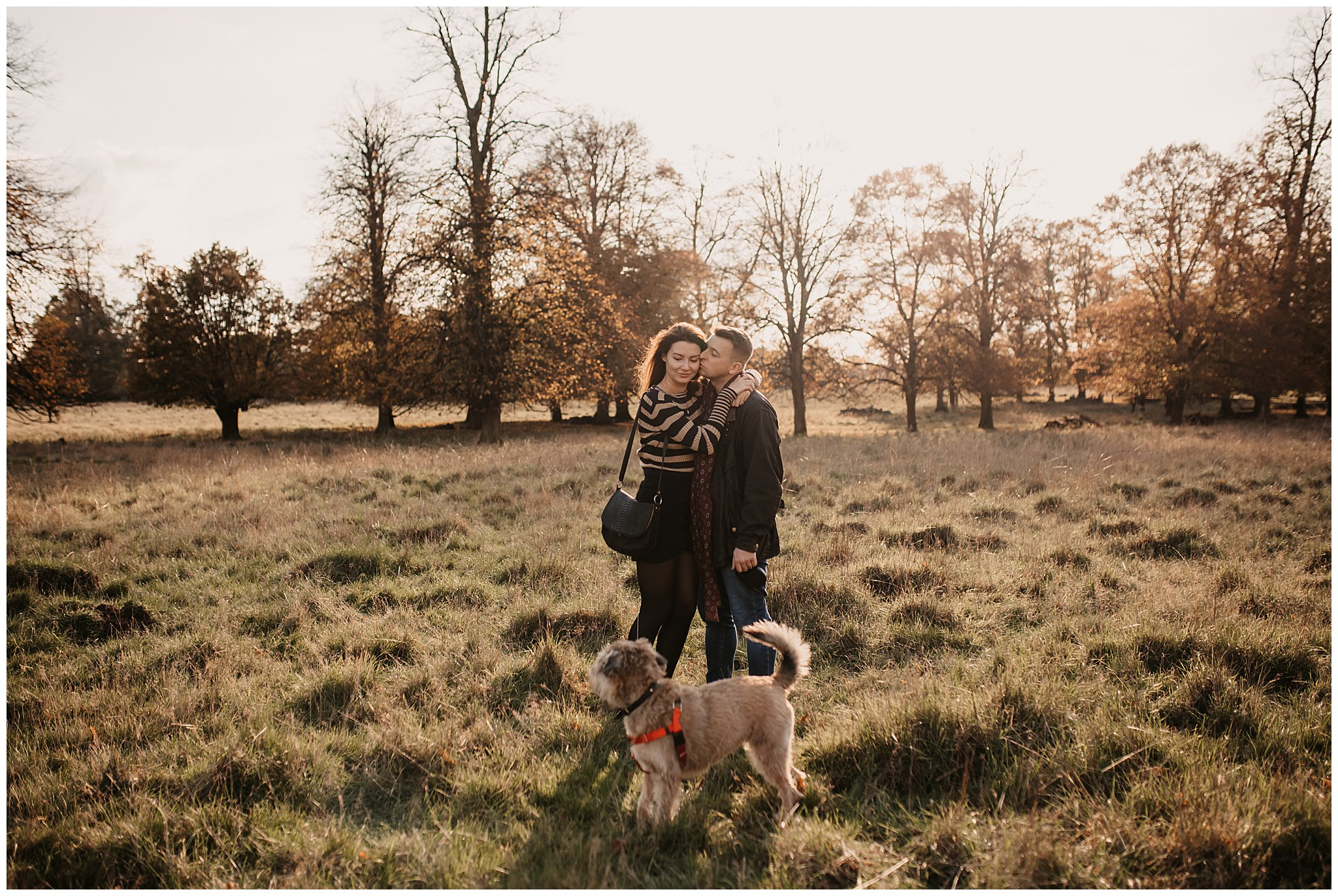 Charlie & Laurence Autumn Bushy Park Couple Shoot-78.jpg