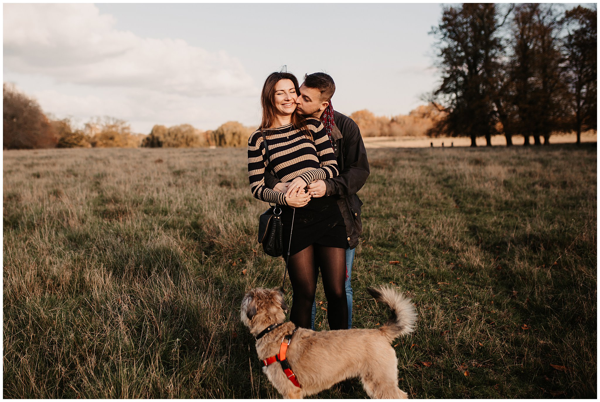 Charlie & Laurence Autumn Bushy Park Couple Shoot-83.jpg