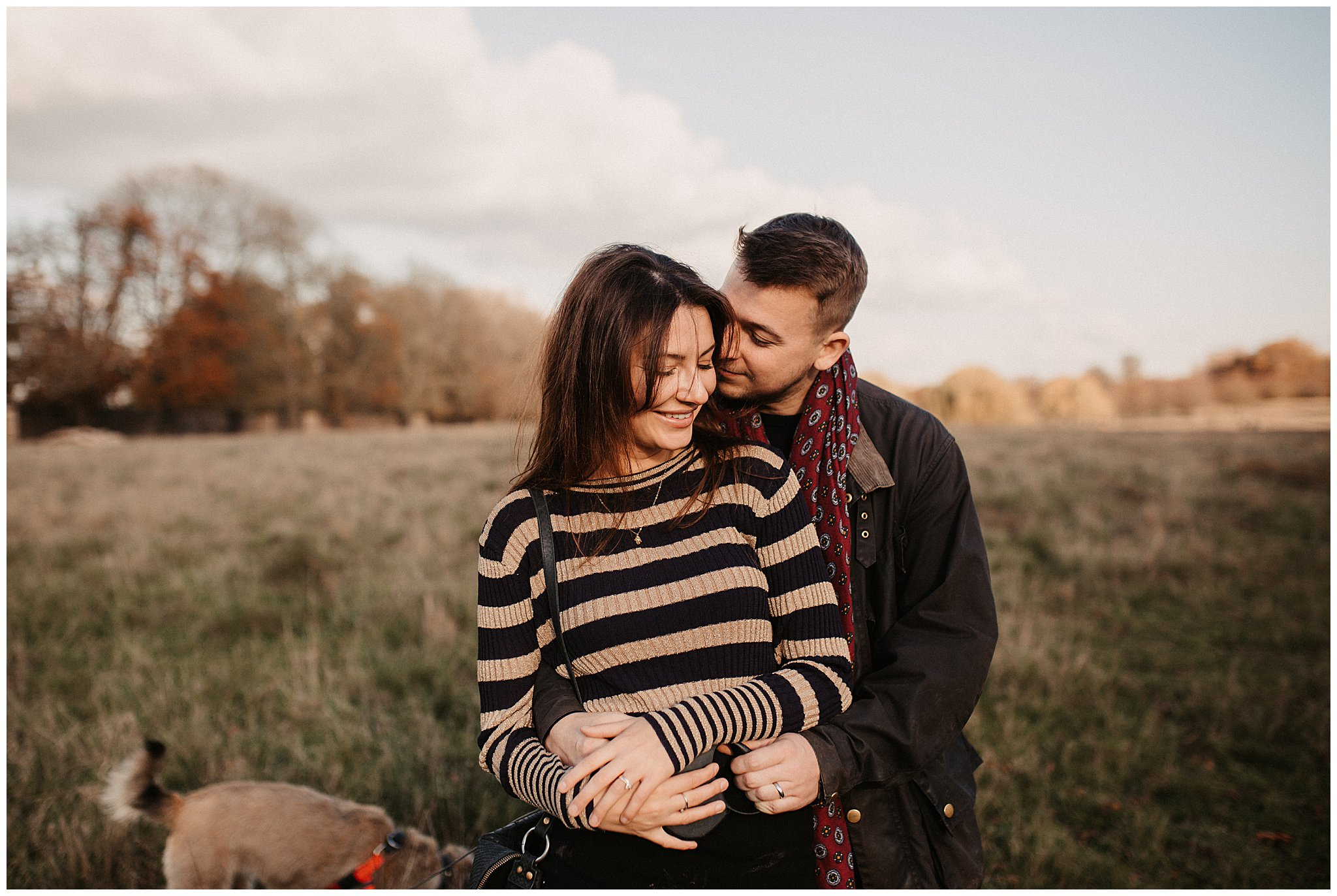 Charlie & Laurence Autumn Bushy Park Couple Shoot-91.jpg