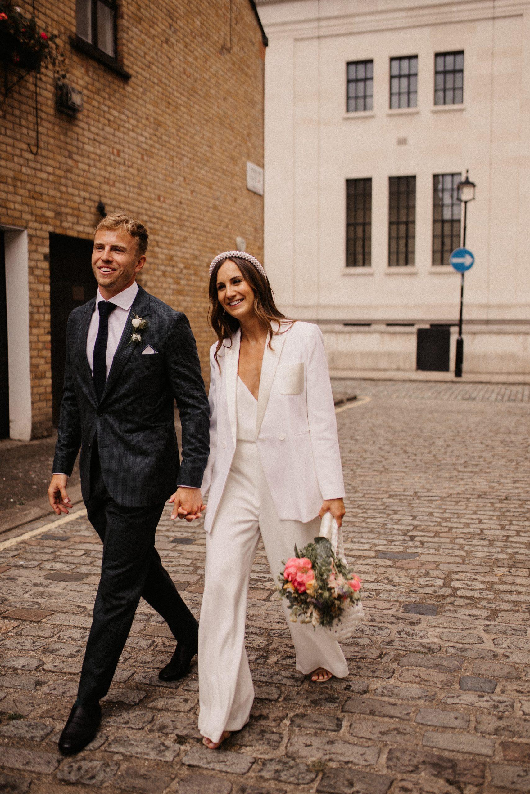 Intimate Stylish City Wedding | Marylebone London